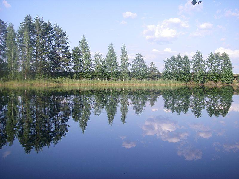Вокруг озера Сайма